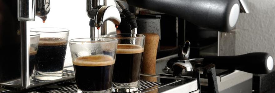 Détartrage de cafetière